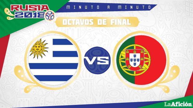 Uruguay vs PortugaL,Mundial 2018 (2-1): GOLES Y RESULTADO