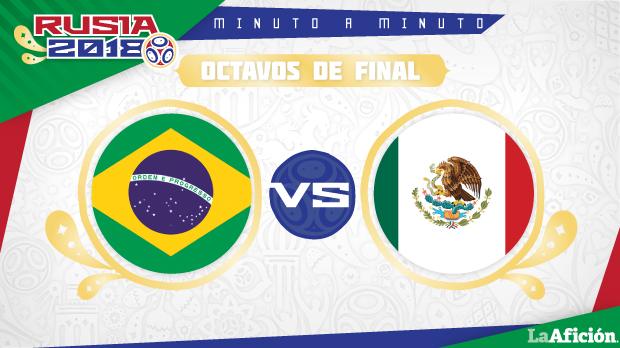 Brasil vs México, Mundial 2018 (2-0): ELIMINACIÓN Y GOLES