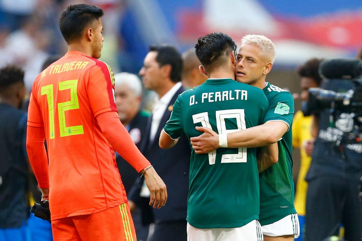 Oribe Peralta se despide de la Selección mexicana de futbol