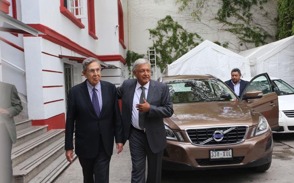 Viven AMLO y Peña Nieto