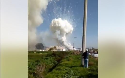 México: autoridades reportan 17 muertos y 31 heridos en explosión de polvorería