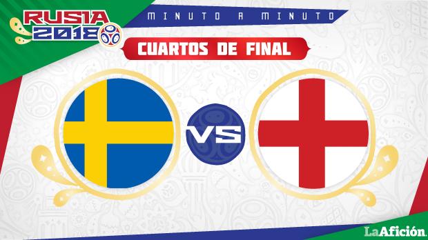 Suecia 0-2 Inglaterra : Mundial 2018: GOLES