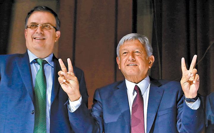 Confirma Ebrard Reunion Entre Lopez Obrador Y Secretario De Estado De EUA