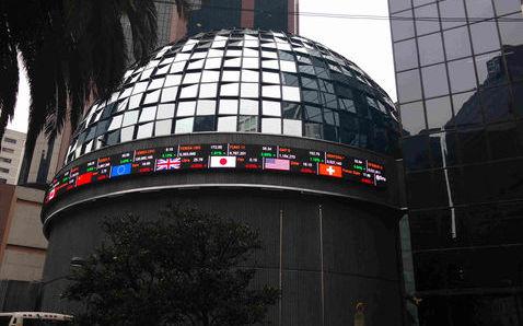 La Bolsa mexicana registra su mejor nivel en más de un mes
