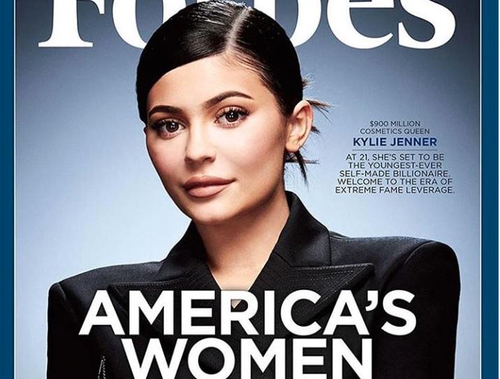 Kylie Jenner es la multimillonaria más joven de los Estados Unidos