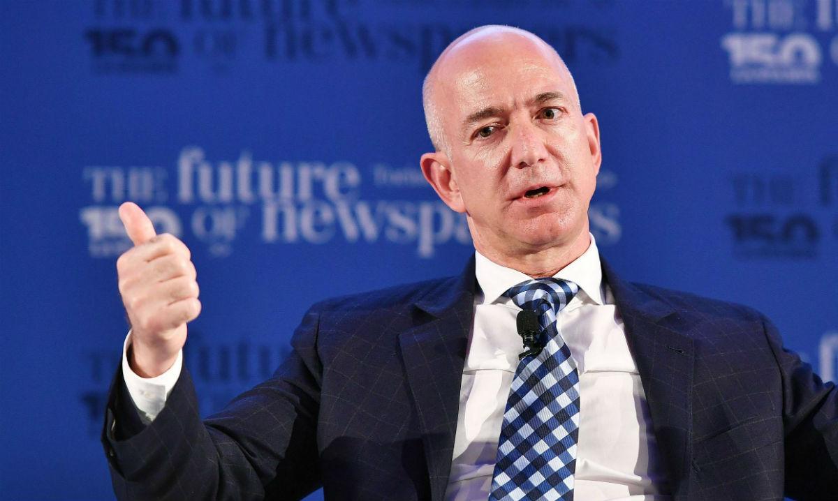 Jeff Bezos, el hombre más rico en décadas según Bloomberg