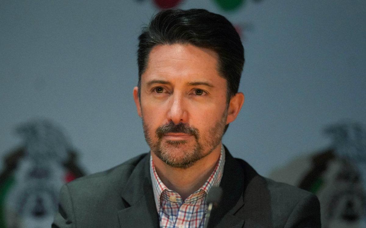 Yon de Luisa asume la presidencia de la Federación Mexicana de Fútbol