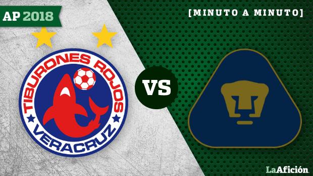 Veracruz 0-2 Pumas : Apertura 2018 Liga MX