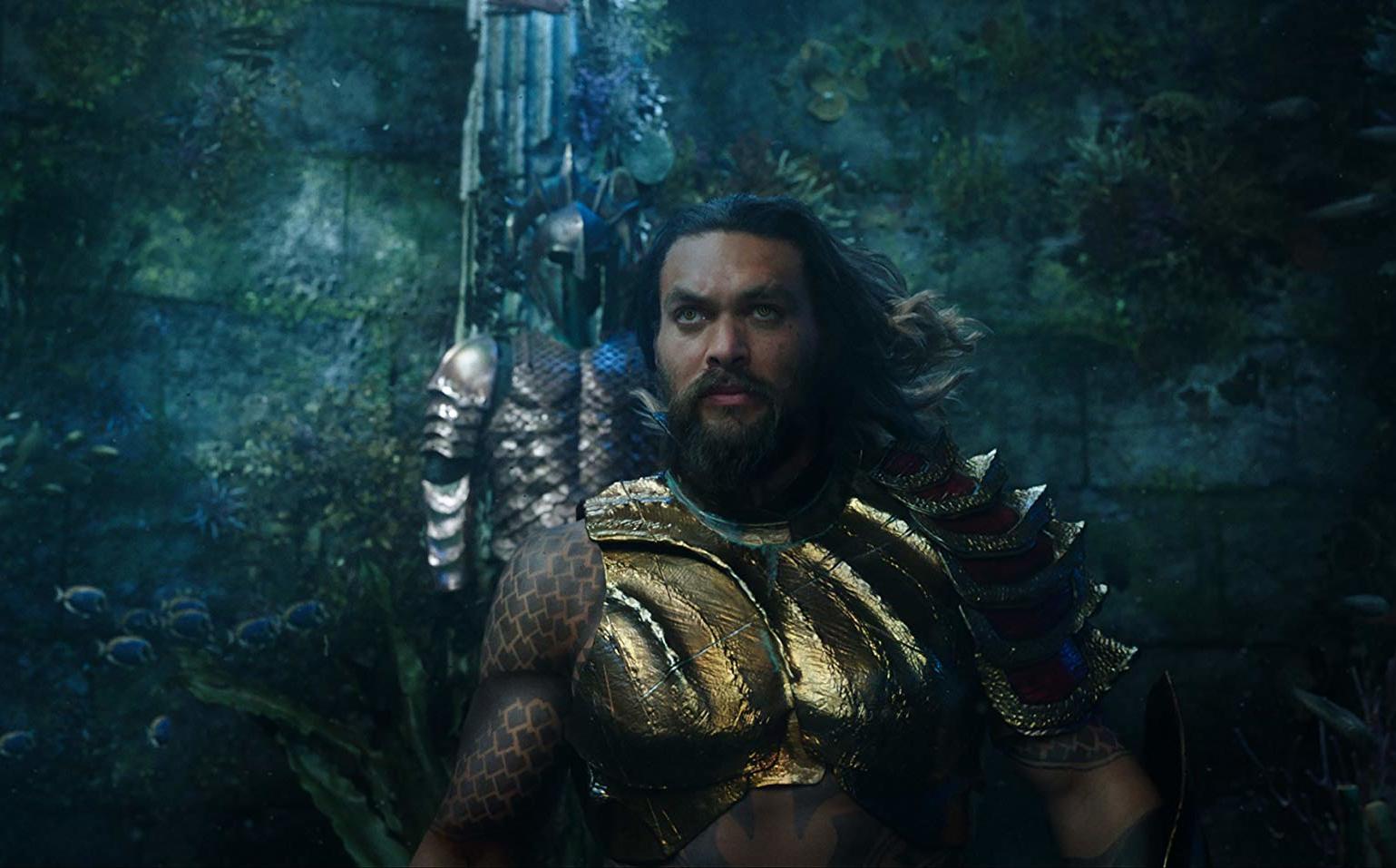 Ve aquí el estreno del trailer de Aquaman