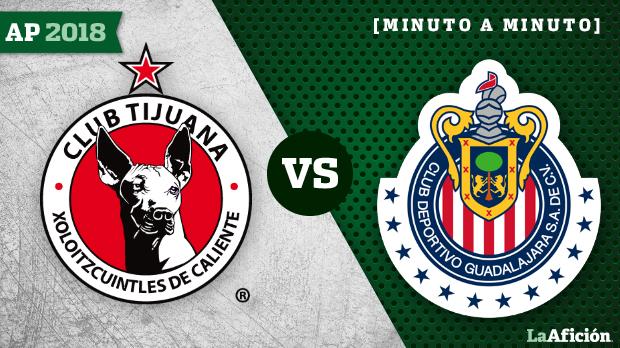 Xolos 2-1 Chivas, Apertura 2018 Liga MX: GOLES