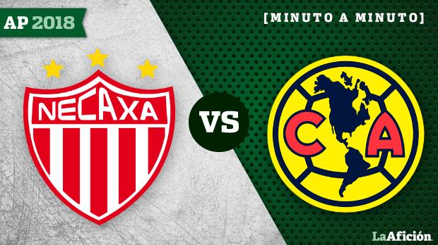 Necaxa vs América; Apertura 2018 (2-1): GOLES Y RESULTADO
