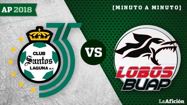 Santos vs Lobos BUAP (2-1): GOLES Y RESULTADO