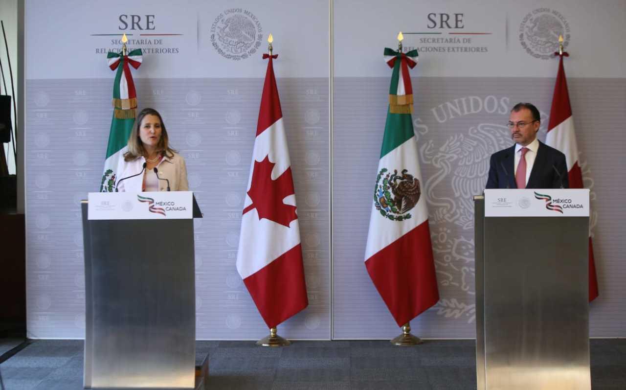 México y Canadá insisten en que TLCAN debe ser trilateral