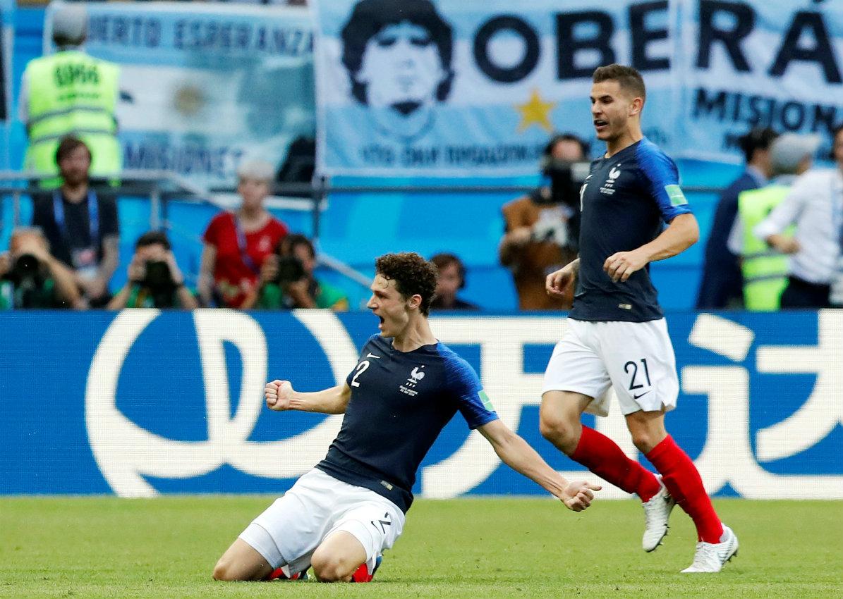 Internautas se decantan por el gol de Pavard - Deportes