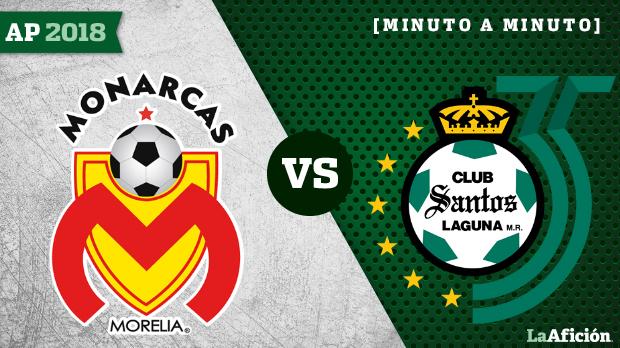 Morelia 3-1 Santos, Apertura 2018 Liga MX: GOLES