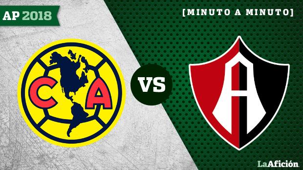 América vs Atlas, Apertura 2018 Liga MX: RESULTADO Y GOLES