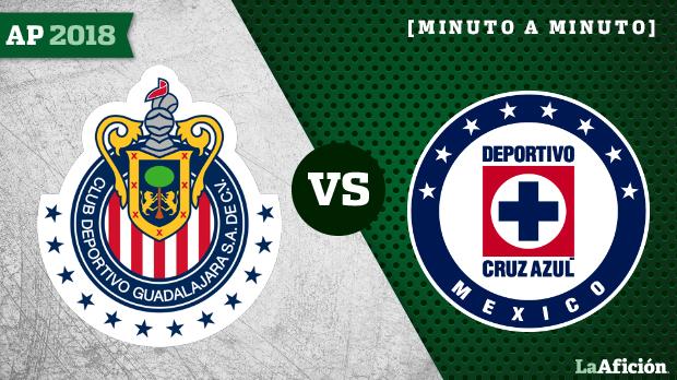 Chivas vs Cruz Azul en vivo y en directo: Apertura 2018 Liga MX