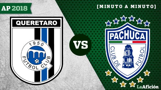 Querétaro 1-0 Pachuca,Apertura 2018 Liga MX: JUGADAS