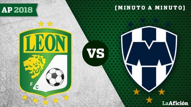 León vs Monterrey, Liga MX (0-2): GOLES Y RESULTADO