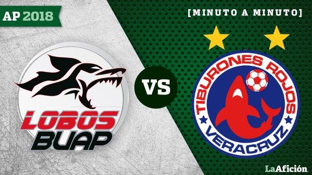 Lobos BUAP vs. Veracruz, Liga MX (2-0): GOLES Y RESULTADO