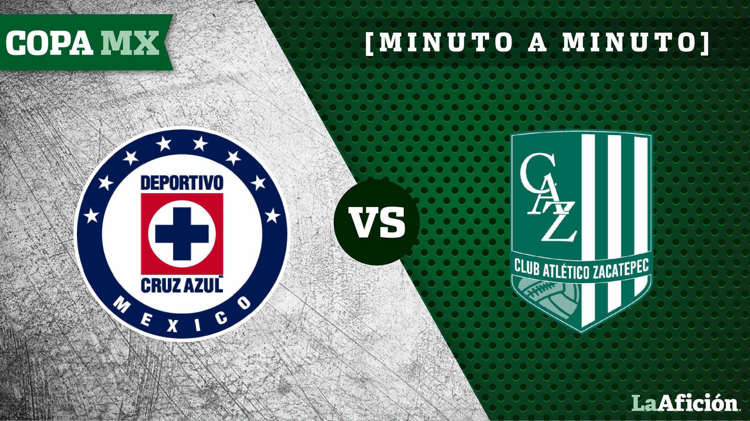 Cruz Azul 2 0 Zacatepec Copa Mx Minuto A Minuto
