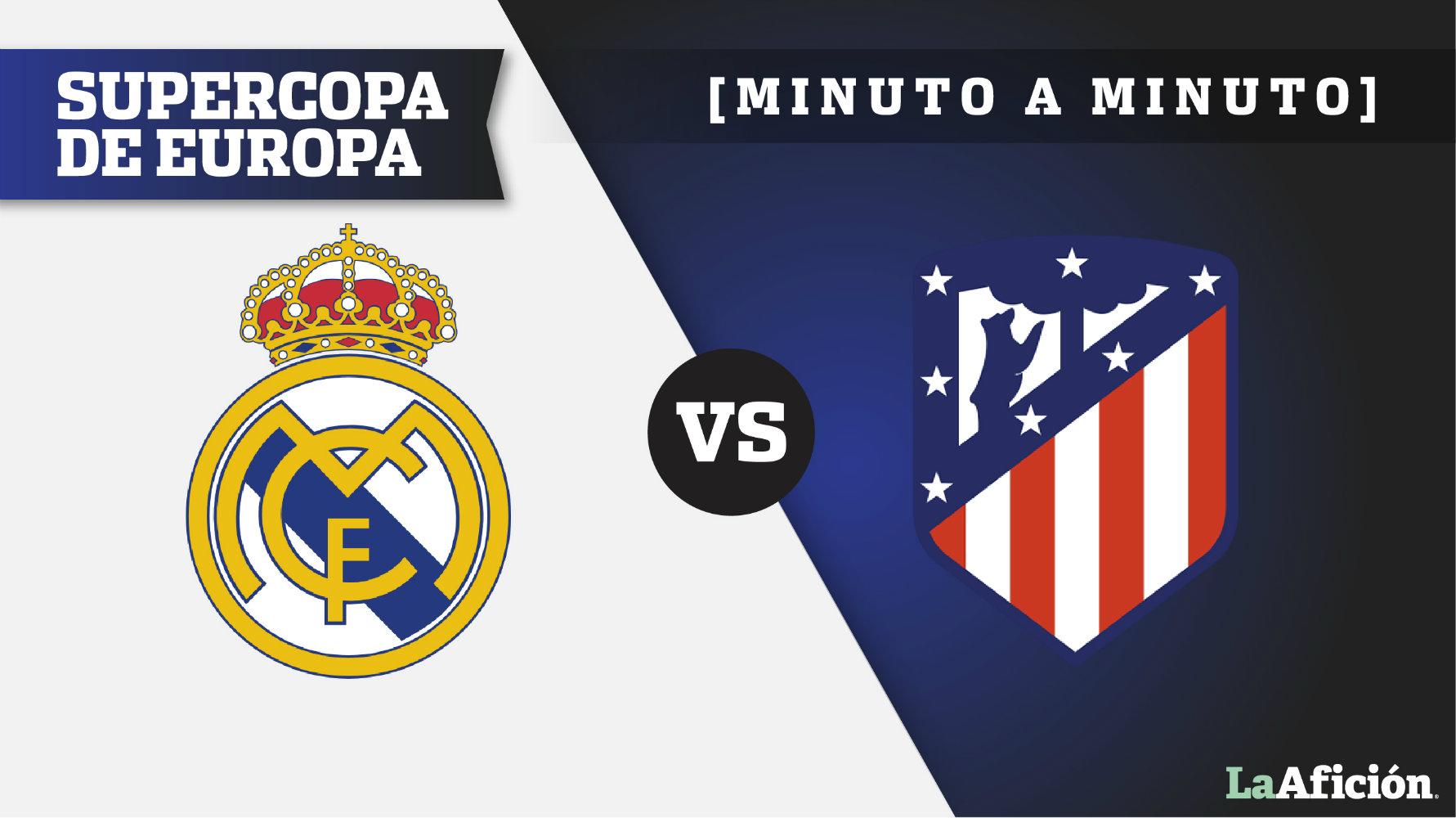 Real Madrid 2-4 Atlético de Madrid, Supercopa de Europa: GOLES