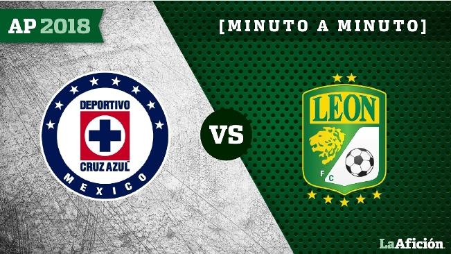 Cruz Azul 3-0 León, Apertura 2018 Liga MX: GOLES