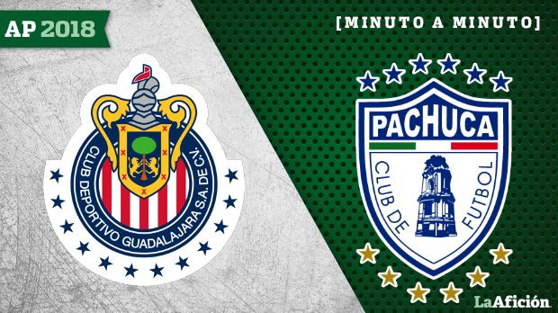 Chivas vs Pachuca en vivo y en directo