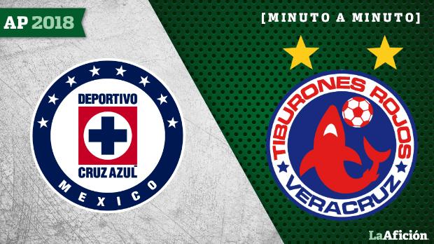 Cruz Azul vs Veracruz; GOLES