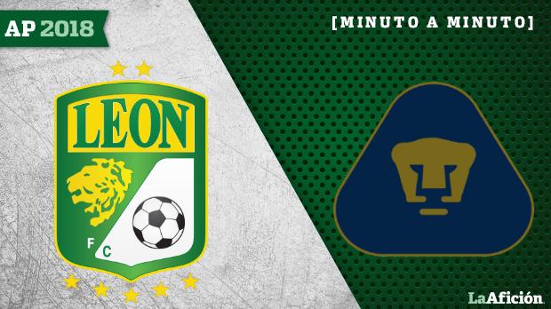León vs Pumas en vivo y en directo