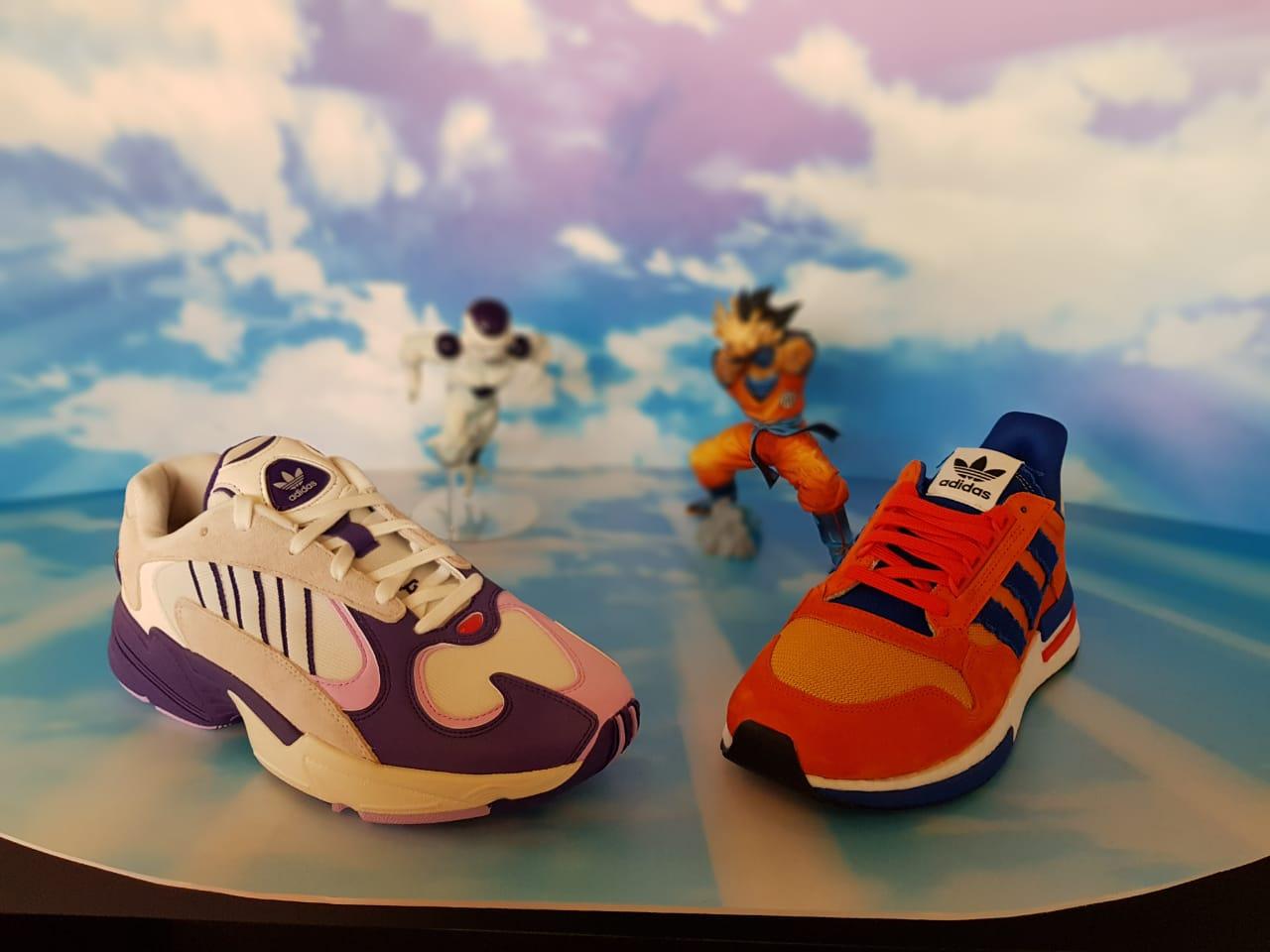 zapatillas adidas dragon ball z goku