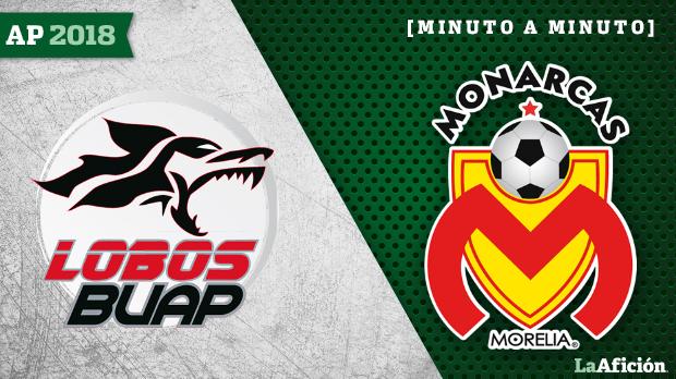 Liga MX: Asestan Lobos BUAP tres mordidas a Monarcas