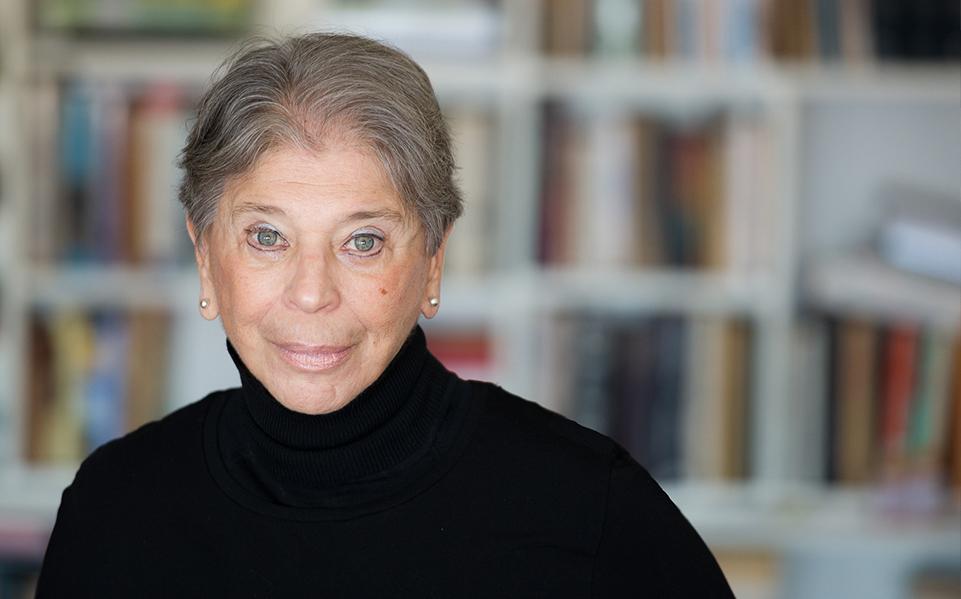 La escritora neoyorquina Vivian Gornick. Foto Mitchell Bach