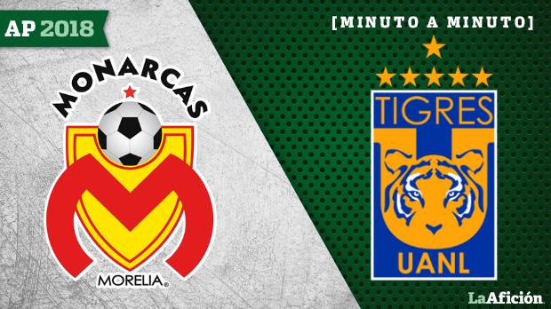 Termina el partido Tigres vs Monarcas con polémica; marcador 2-0