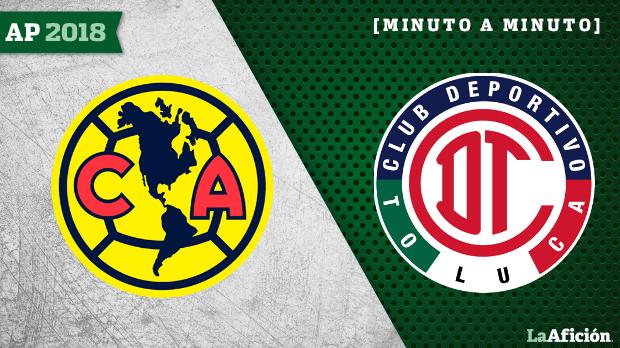 América vs Toluca: Minuto a minuto
