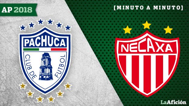 Pachuca vs Necaxa: GOLES