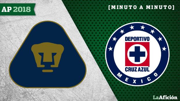 Pumas vs Cruz Azul: En vivo y en directo