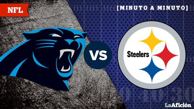 Steelers propina paliza a Panthers en inicio de la Semana 10