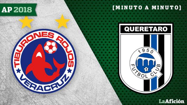 Veracruz vs Querétaro: En vivo y en directo