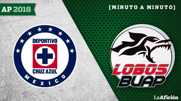 Cruz Azul vs Lobos BUAP: EN VIVO