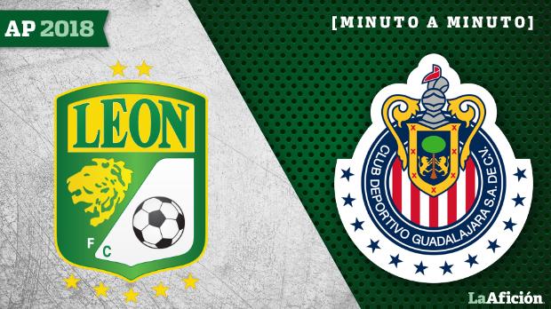 León vs Chivas: Minuto a minuto