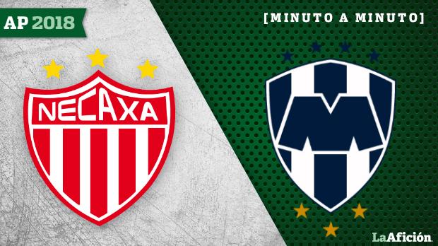 Necaxa vs. Monterrey: Minute Minute