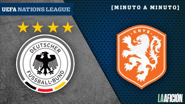 Alemania vs Holanda, Liga de Naciones de Europa: GOLES