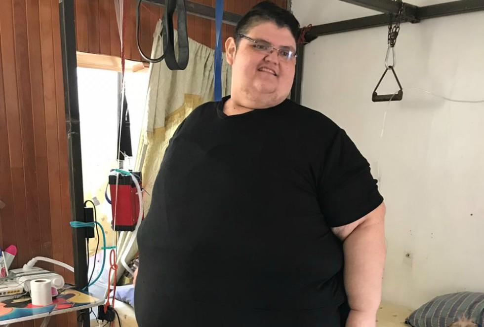 Juan Pedro: récord por bajar 445 kilos