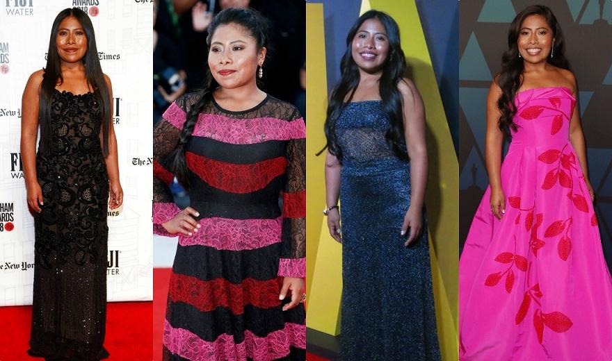 82ad20a94 Todos los 'looks' de Yalitza Aparicio en las alfombras rojas y revistas