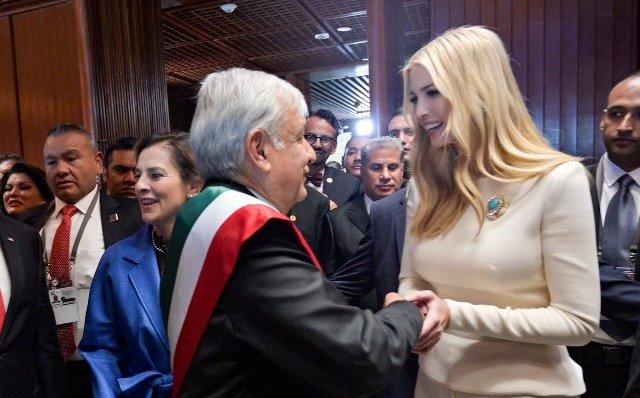 Ivanka Trump felicita a López Obrador por toma de protesta