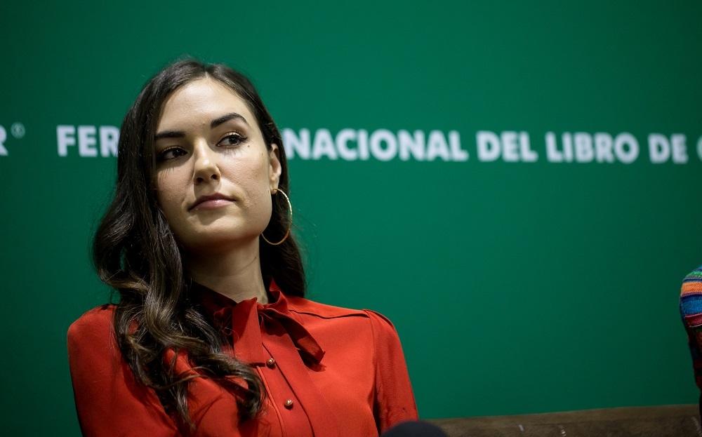 Sasha Grey presentó su segunda novela en la FIL Guadalajara 2018