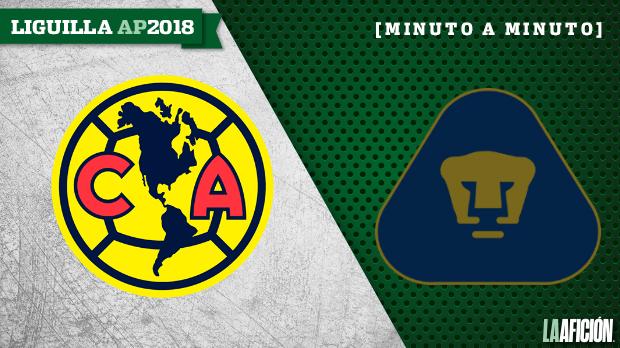 América vs Pumas, Semifinal de vuelta (6-1): GOLES Y RESULTADO