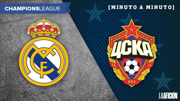 Real Madrid vs. CSKA Moscú, Champions League: GOLES