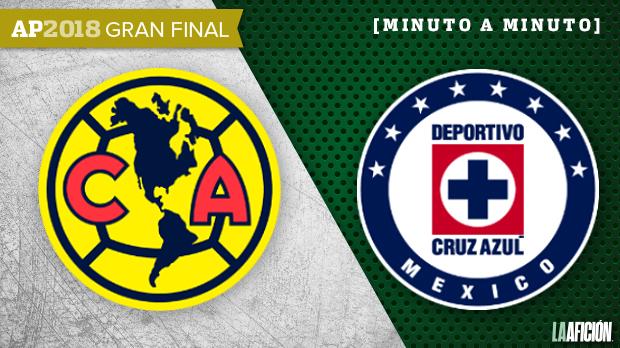América vs Cruz Azul, Final de ida Liga MX (0-0): GOLES Y RESULTADO